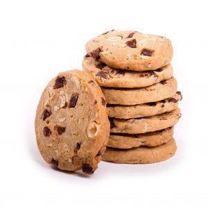 Choc Chip and Hazelnut Gluten Free Cookies