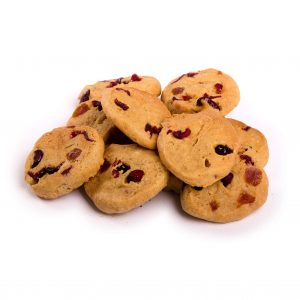 Mini Dairy Free Cranberry And Apricot Gluten Free Cookies