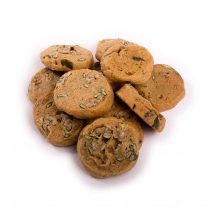 Mini Pecan and Pumpkin Gluten Free Cookies