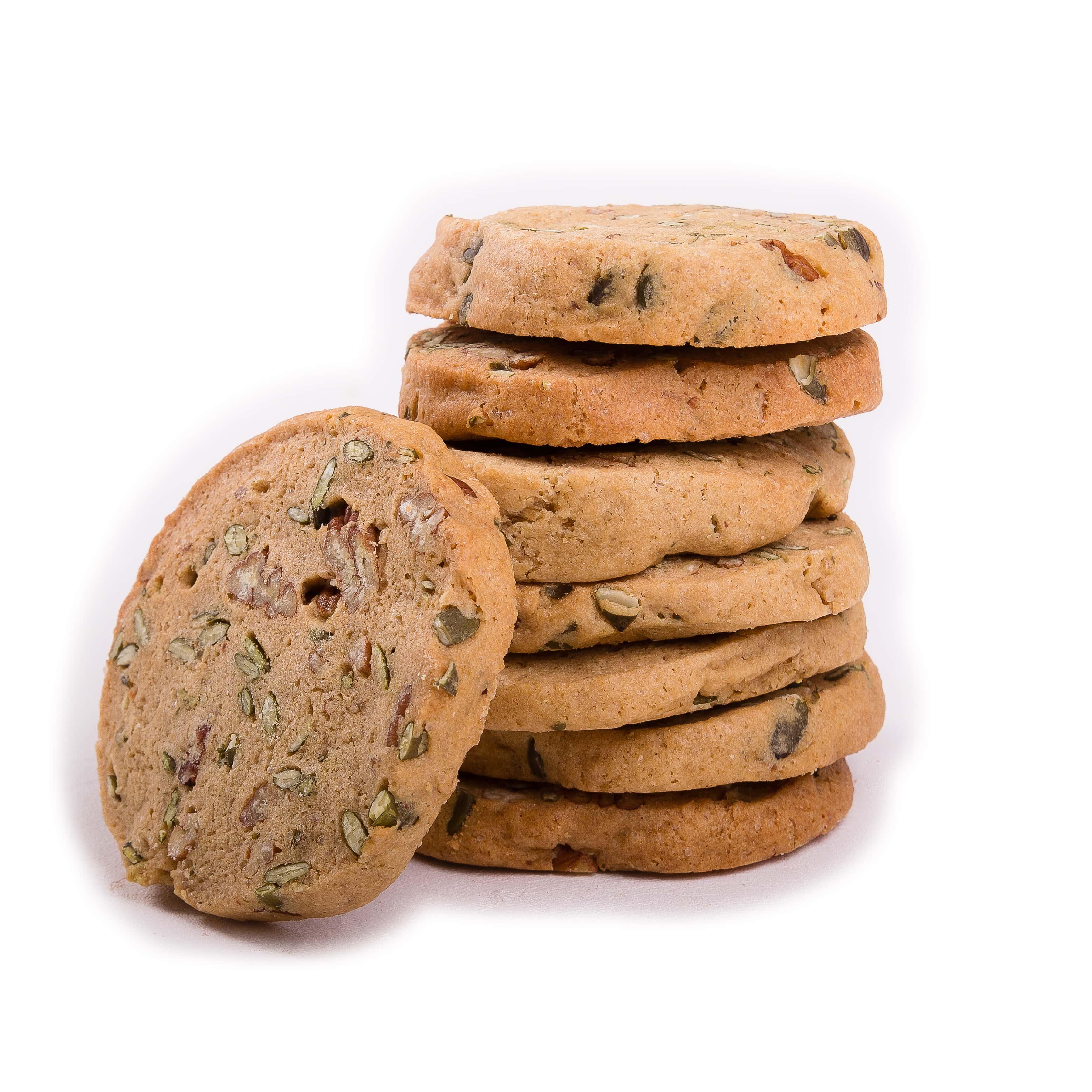 Pecan & Pumpkin Seed Gluten Free Cookies – Gingerellas