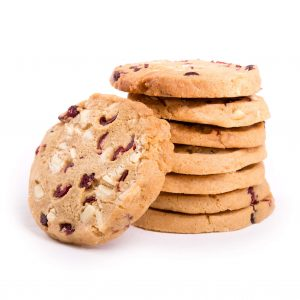 White Choc and Cranberry Gluten Free Cookies