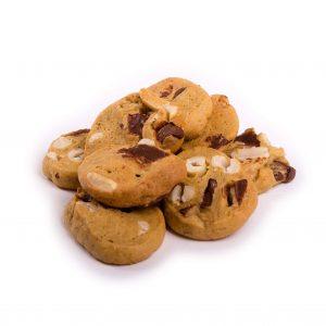 Mini Chocolate Chip & Hazelnut Gluten Free Cookies